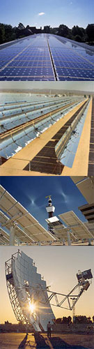 Solar Technologies Composite Photo